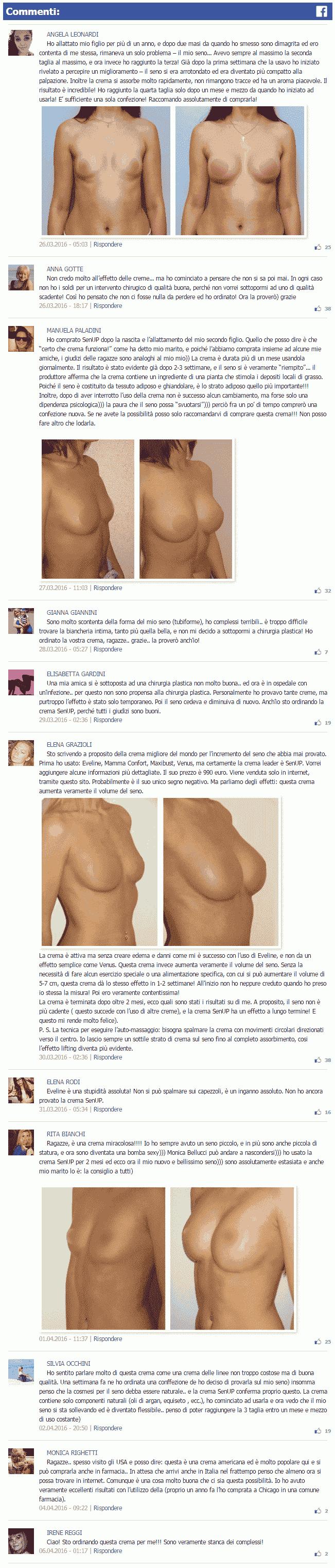 senup commenti facebook