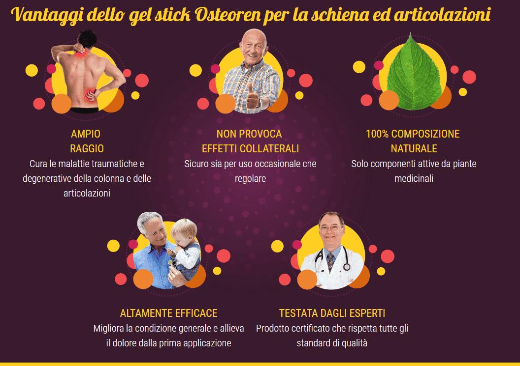 Osteoren vantaggi