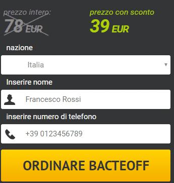 BacteOFF Prezzo