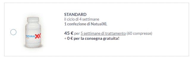 naturalXL prezzo
