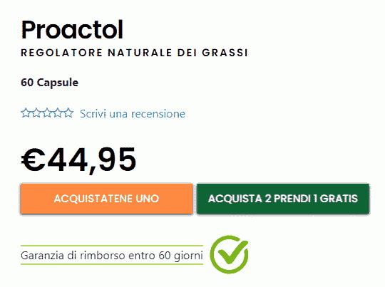 Proactol XS prezzo