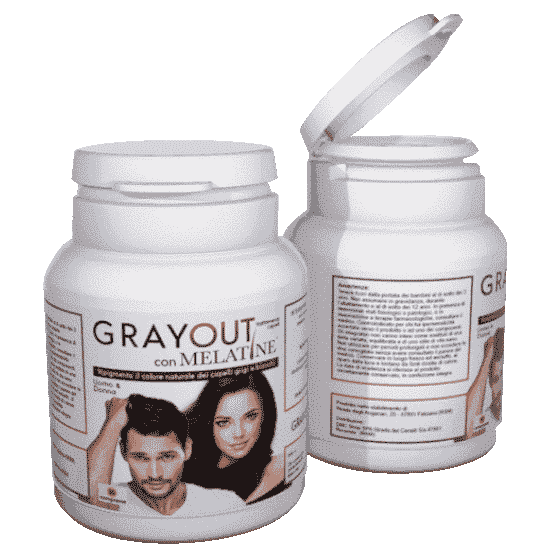 Grayout con melatine